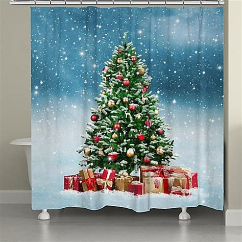bed bath and beyond tree shower curtain laural home snowy tree shower curtain bed bath beyond