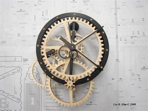 wooden gear clocks images  pinterest wooden