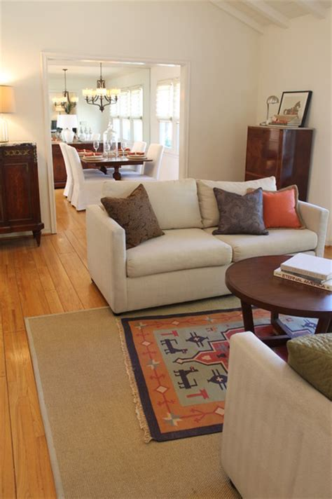 pottery barn style traditional living room los