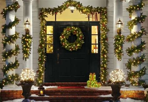 christmas decorating outdoor columns outdoor decorating ideas bob vila