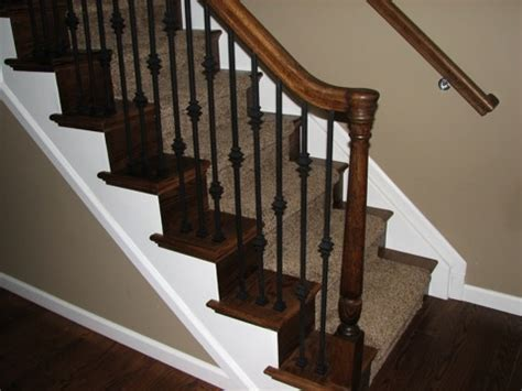 how to restain stair banister 19 best images about stairway bannister on pinterest