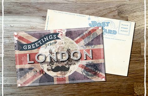 make a post card create a vintage postcard design design cuts