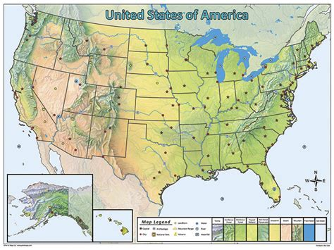 united states picture map united states pin map set