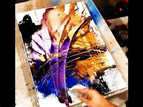 acrylic painting tips and tricks two best tricks in creating acrylic painting effects and