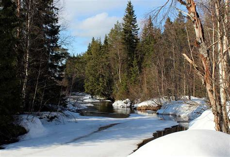 wallpaper  finland landscape winter snow