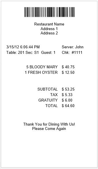 grocery receipt template 9 free sle grocery payment receipt templates