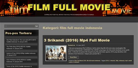 film indonesia situs download 10 situs download film indonesia terbaru paling lengkap