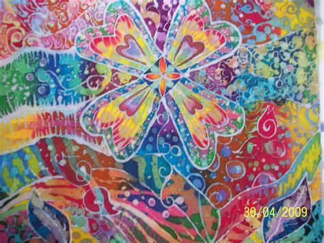 Baju Sarimbit Keluargakaos Family Bungo Baju Family batik painting 174 batik