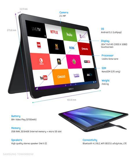 Tablet Samsung View samsung galaxy view la nueva tablet de 18 4 pulgadas