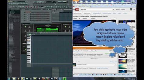pattern mode citybeat tune up remix fl studio tutorials 2 detecting a tune s note scale youtube