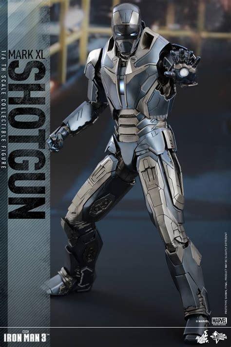 iron man dom details on hot toys iron man shotgun mark xl figure
