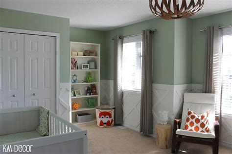 nursery reveal family room walls decor unisex baby room