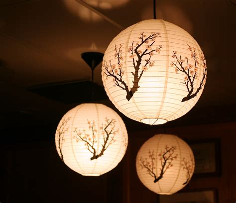Japanese Paper Lanterns How To Make - rice paper ls room ideas paper ls