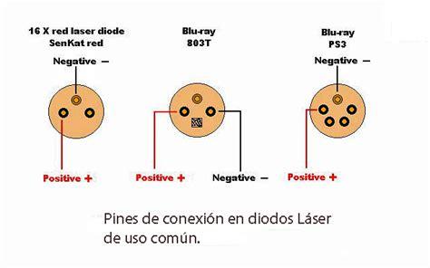 pines en diodos laser video tutorial  hacer driver