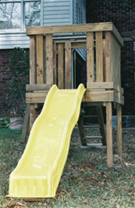 backyard slide plans pinterest the world s catalog of ideas