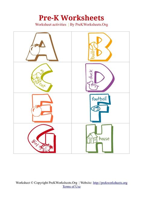free printable letters for pre k 6 best images of pre k abc worksheets printable free