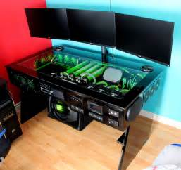 gaming setup creator my computer rig tower pc gaming setup liquid cooled www