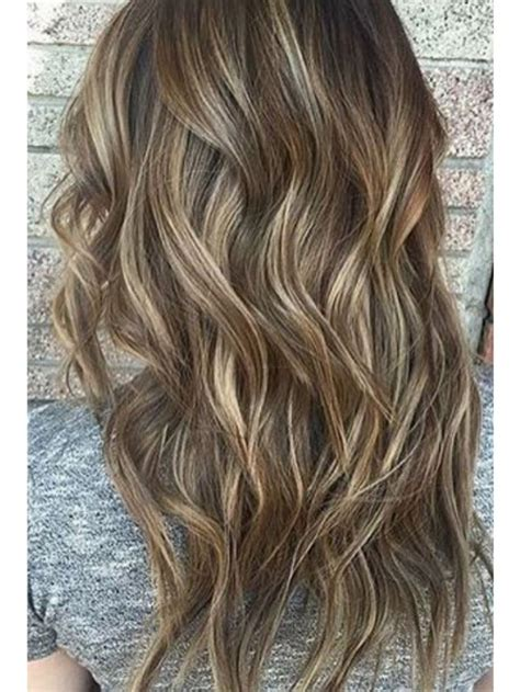 hi and low lights on layered hair high and low lights on dark bronde hair hair ideas