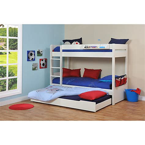 Buy Stompa Uno Plus Multi Bunk Bed With Trundle John Lewis Stompa Bunk Beds