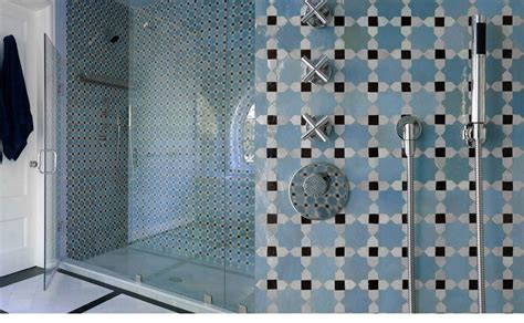 Simple Bathroom Tile Design Ideas by Mosaic House