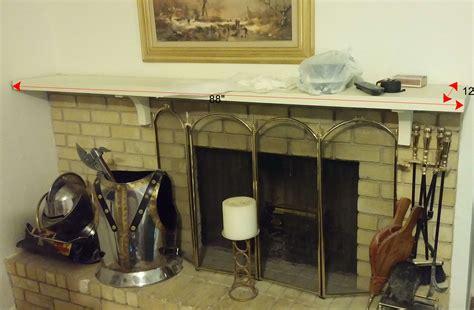 new fireplace mantel new fireplace mantel shelf home improvement stack exchange