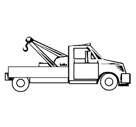 coloring page tow truck tow truck coloring page coloringcrew com