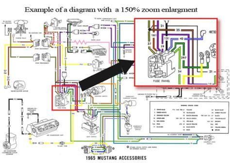 1966 mustang wiring diagram fuse box and wiring diagram