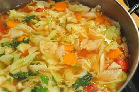 Cabbage Detox by 7 Day Detox Cabbage Soup Recipe