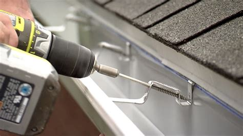 how to install rain gutters today s homeowner