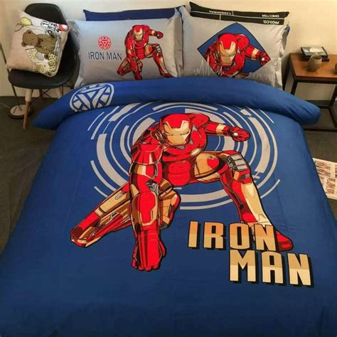 iron man comforter set iron man bedding for kids