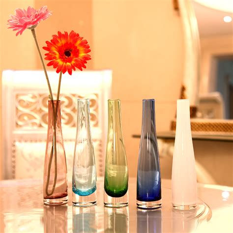 Modern Dining Room Vases Free Shipping Dining Table Glass Vase Multicolour Glass