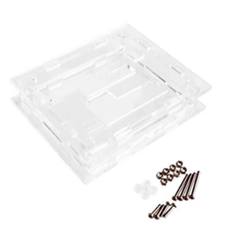 Casing Transparan W1209 Digital Temperature Box W1209 clear acrylic shell kit for xh w1209 digital temperature module mo ebay