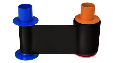 Ribbon Color Dtc4500e fargo dtc5500lmx dtc4500e eco premium resin black
