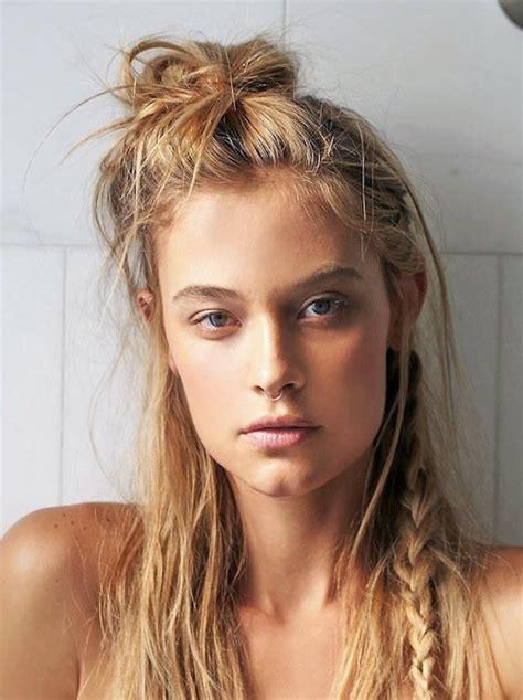 Half Bun Hairstyle by 17 Trendy Half Bun Hairstyles For 2016 Pretty Designs