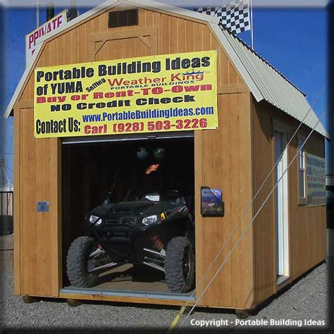 Atv Storage Shed by Photo Gallery Of Portable Building Ideas Additional