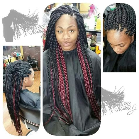 box braids two colors 10 best images about braids on pinterest protective