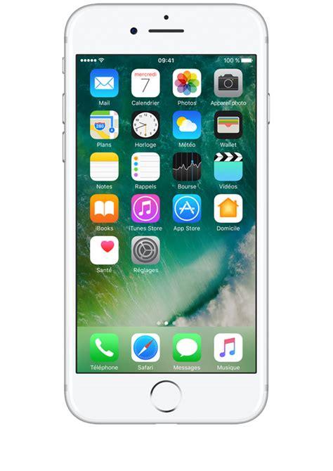 i phone acheter le nouvel iphone 7 argent 32go prix avec