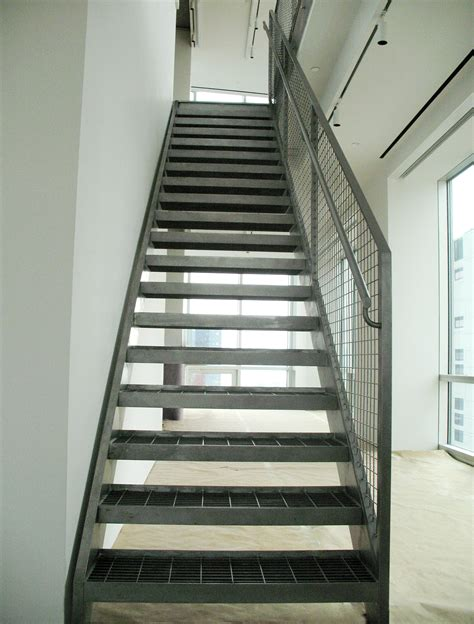 Steel Staircase Design Steel Postsfor Stairs Decosee