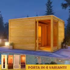 sauna da giardino cubo da giardino erick con sauna finlandese