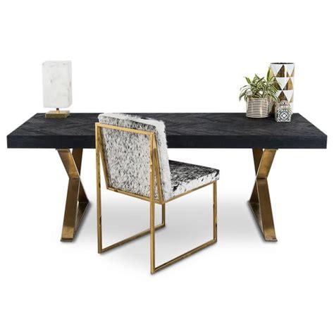 sleek desk modern desks with sleek metal solid wood polished high