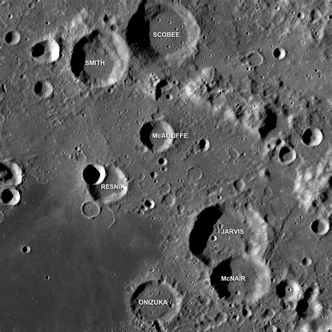 challenger astronauts names challenger astronauts memorialized on the moon universe