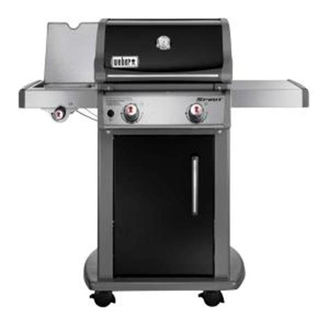 weber spirit e 220 2 burner propane gas grill in black