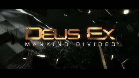Bd Ps4 Deus Ex Mankind Divided Bnib deus ex mankind divided annonce sa date de sortie sur pc ps4 et xbox one et ses bonus de