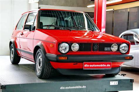 volkswagen golf 1 consignatie oldtimer of youngtimervolkwagen golf 1 gti