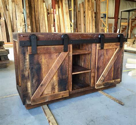 barn door cabinets for sale connie s reclaimed wood bathroom vanity fama creations