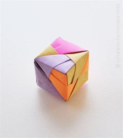 Origami Cube - 262 best origami cubes images on