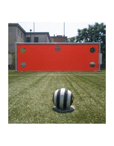 dimensione porta calcio telo per tiri di precisione di pvc da fissare alla porta