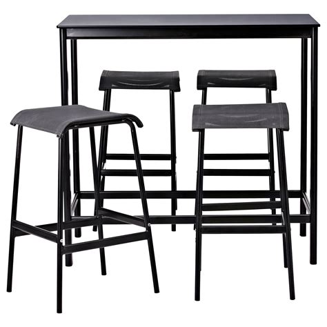 Bar Table And Stools by Garpen Bar Table And 4 Bar Stools Ikea Bar Stool Leg