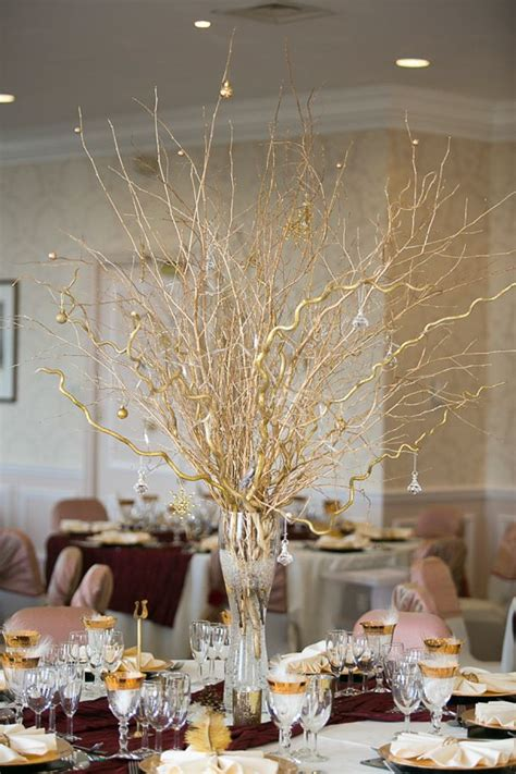 easy to make wedding centerpieces suzanne neville for a gold and wedding wedding