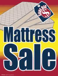 Mattress Tags by Sale Tags Mattress Sale Signs4retail